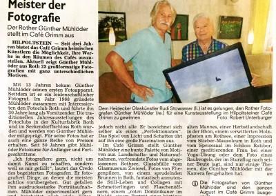 Ausstellung Caffee Grimm
