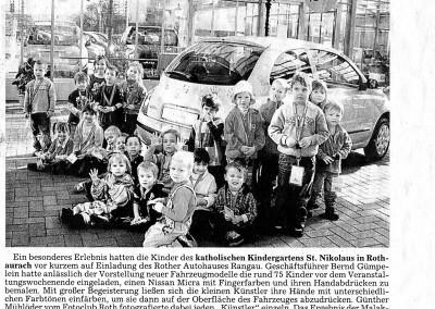 Kinderfotos Autohaus 06