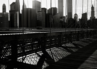 NY Brücke Sonne